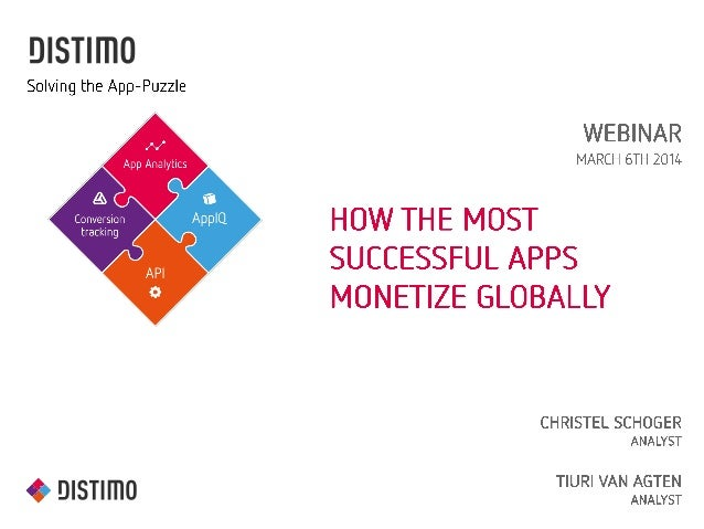 Distimo © 2014, some rights reserved. All trademarks are the property of their respective owners Solving the App-Puzzle