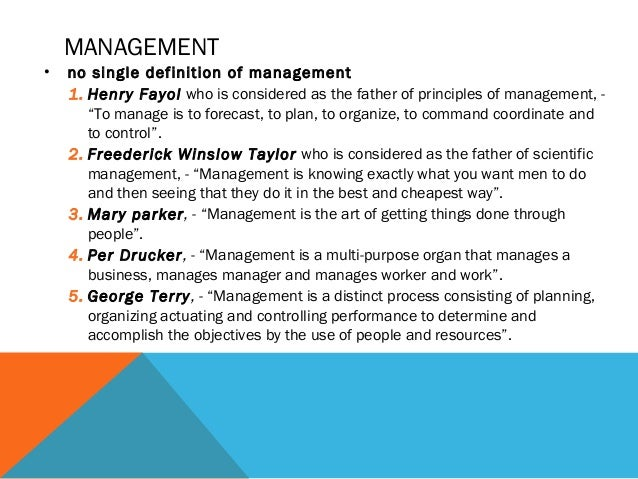 why is good management important