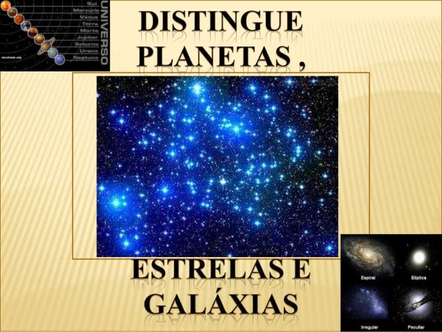DISTINGUIR PLANETAS