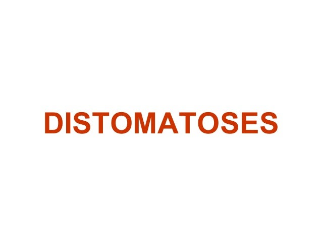 DISTOMATOSES