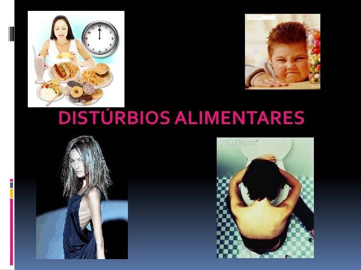 Distúrbios alimentares<br />
