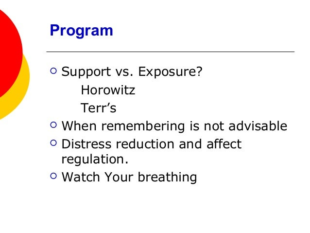 Distress reduction techiques and tools Slide 2