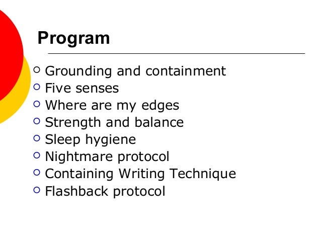 Distress reduction techiques and tools Slide 3