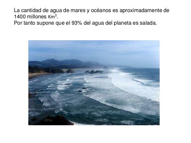 distribución de agua dulce en el planeta tierra