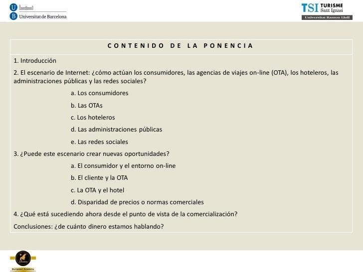 Distribución hotelera motor de reservas hotel resultados pp aedem_2012 (3) Slide 2