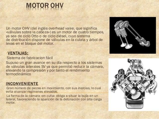 Qué es un motor ohc y ohv