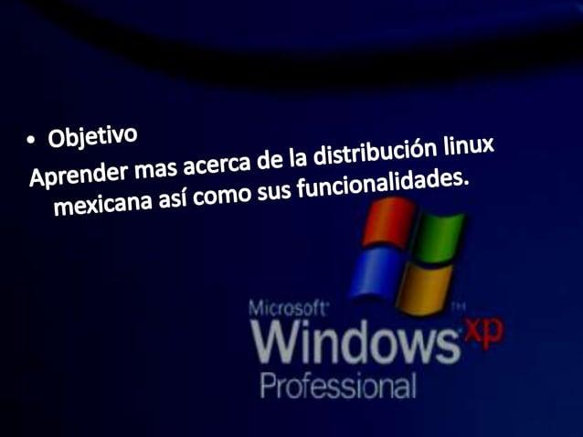 """de la distribución linux sus funcionalidades.   """"l"""" Y rw"""