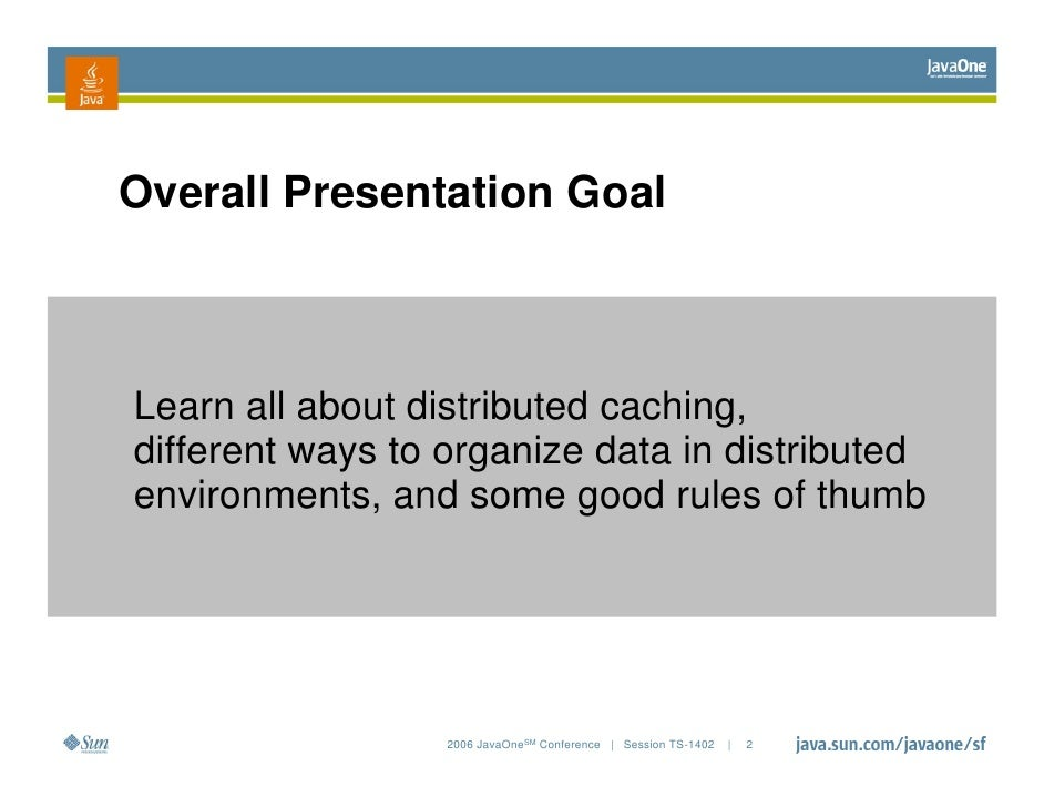 Distributed Caching   Essential Lessons (Ts 1402) Slide 2