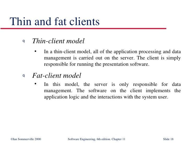 define thin client