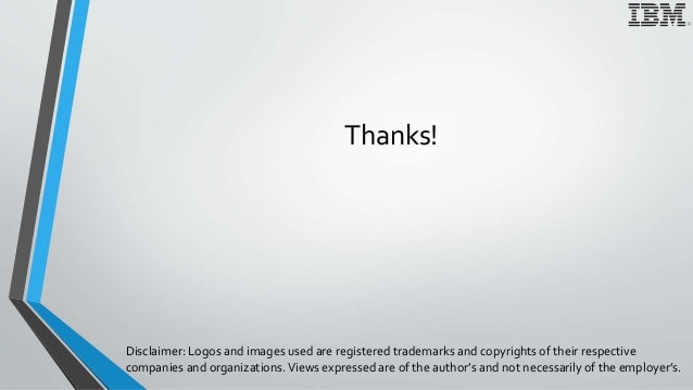 Thanks! Disclaimer: Logos and images used are registered trademarks and copyrights of their respective companies and organ...