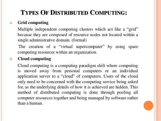 Distributed Computing Pdf