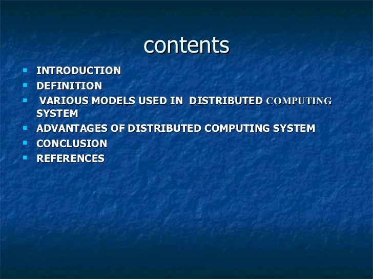 Distributed computing ).ppt him Slide 2