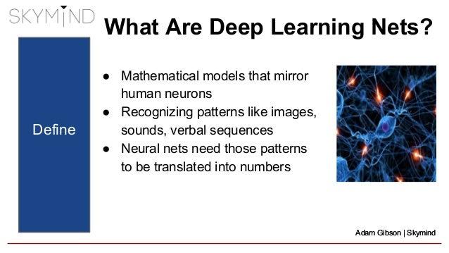 Skymind & Deeplearning4j: Deep Learning for the Enterprise Slide 2