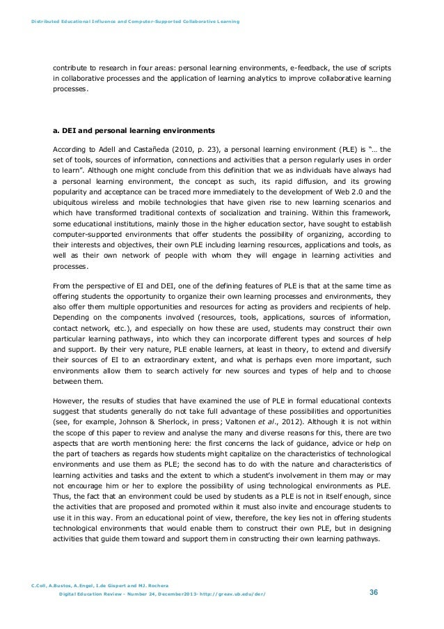 an analysis of the influence of computers in education Influence of school support in the use of computers in teaching  questionnaire, interview schedule and document analysis guide results.