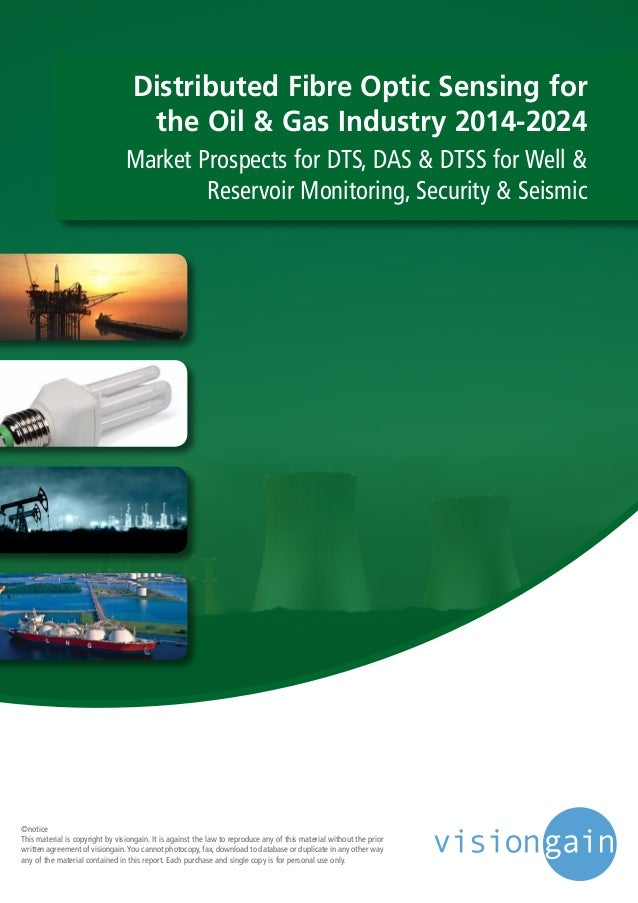 Distributed Fibre Optic Sensing for the Oil & Gas Industry 2014-2024 Market Prospects for DTS, DAS & DTSS for Well & Reser...