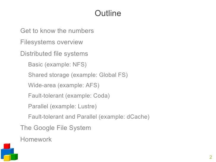 Distributed File System Slide 2