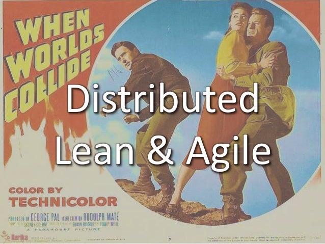 Distributed  Lean & Agile  ©2014 Kerika, Inc.