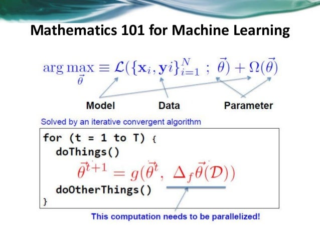 Distributed machine learning Slide 3