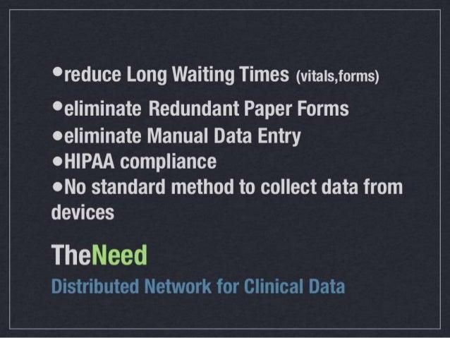 Distributed Network for De-Identified Sensor Data Slide 3