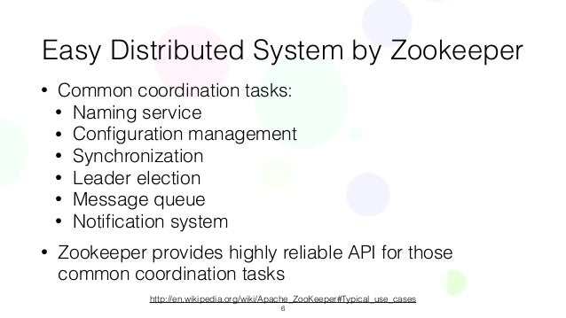 zookeeper whitepaper yahoo research Yahoo research {fpj,breed}@yahoo-inccom abstract in this paper, we  describe zookeeper,  property, zookeeper provides a per client guarantee of.