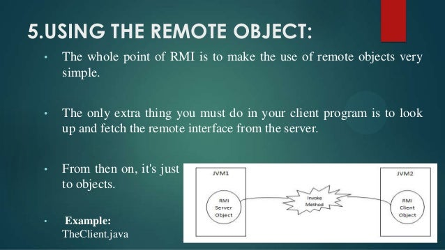 remote object invocation in distributed system pdf
