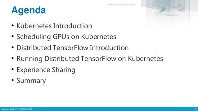 Distributed tensorflow on kubernetes Slide 2