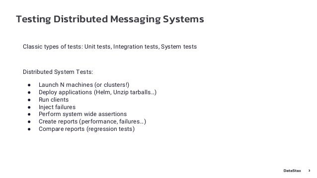 Distributed Tests on Pulsar with Fallout - Pulsar Summit NA 2021 Slide 3