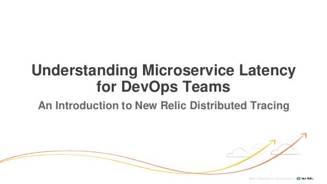 ©2008–18 New Relic, Inc. All rights reserved Understanding Microservice Latency for DevOps Teams An Introduction to New Re...