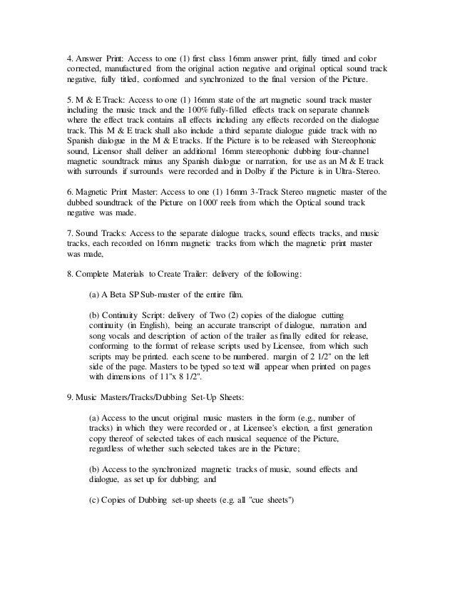Distribution Letter