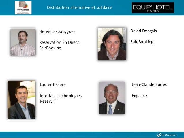 Distribution alternative et solidaire - Conférence EquipHotel Slide 3