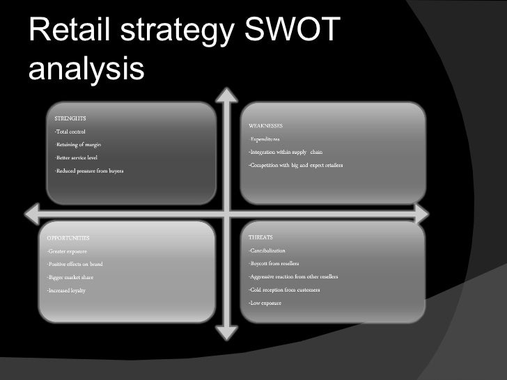 swot analysis of sears roebuck Sears holdings corporation - strategy and swot report, is a source of comprehensive company data and information the report covers the company's structure, operation, swot analysis, product and service offerings and corporate actions, providing a 360° view of the company.