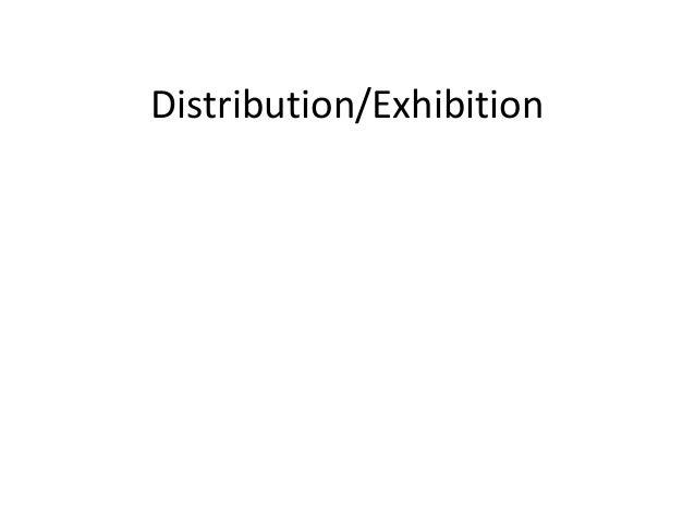 Distribution/Exhibition