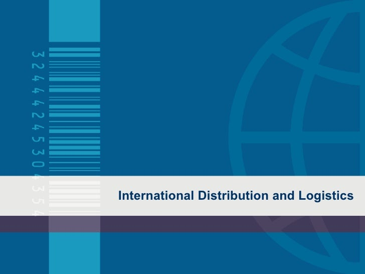 Distribution And Logistics Mcim