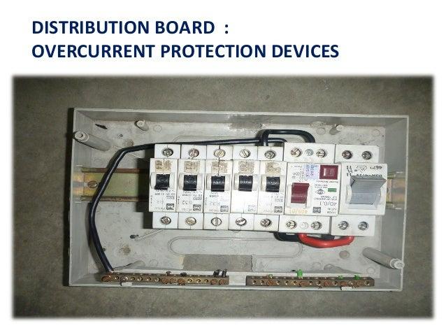 distribution board rh slideshare net Electrical Distribution Panel Electrical Distribution Board