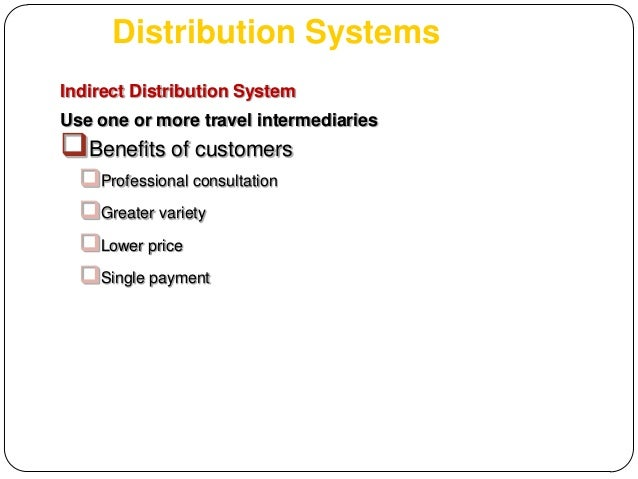 advantages and disadvantages of using retail distribution channel in tourism Distribution channels move products and services from businesses to consumers   services, their manufacturers or providers use multiple channels of distribution   in a three-level channel structure retailers serve as intermediaries between.