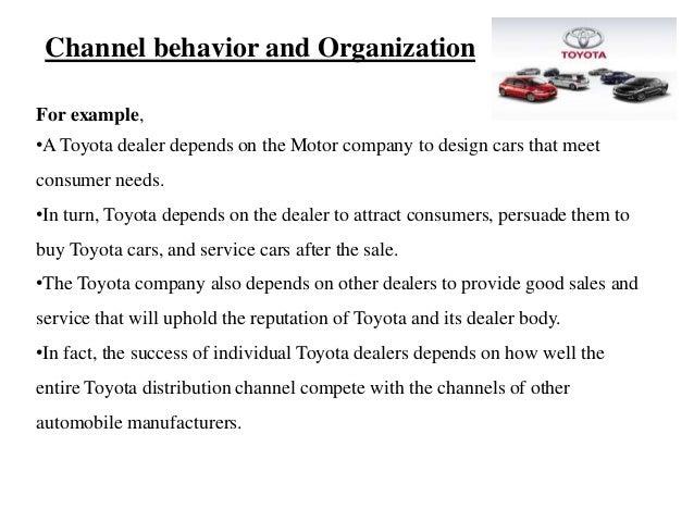 toyota distribution channel