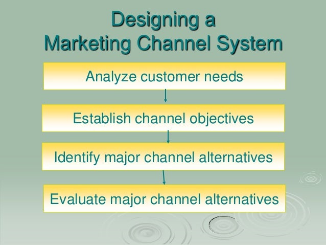 designing a marketing channel essay Hbr store  case studies  sales & marketing designing channels of distribution case study v kasturi rangan  presents a framework and a method for addressing the new product channel choice.