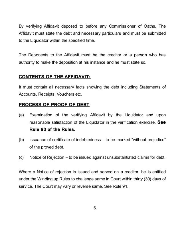 Receipt of liquidating dividends distributions