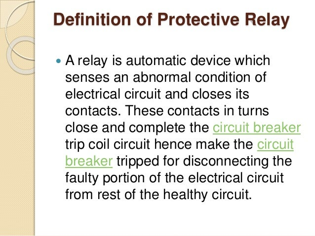 Electric Relay Meaning