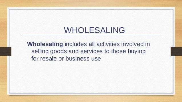  Wholesalers are used because they are often better at  performing the following channel functions than other channel: