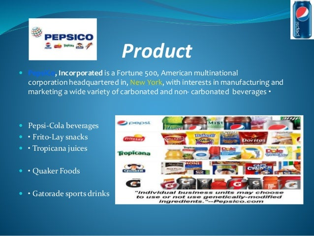 tropicana marketing strategy Pepsico's strategy for its uk business involves continued investment in its core brands across snacks and beverages, including walkers, tropicana, naked, quaker, and pepsi.