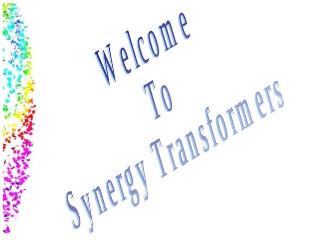 Synergy's Power Transformers are manufactured in accordance with the most demanding industry and international standards.