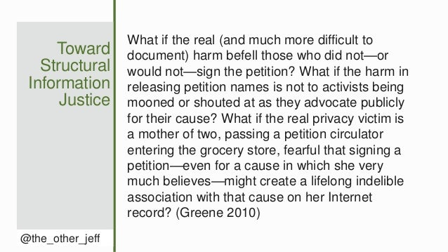 Toward Structural Information Justice @the_other_jeff What if the real (and much more difficult to document) harm befell t...
