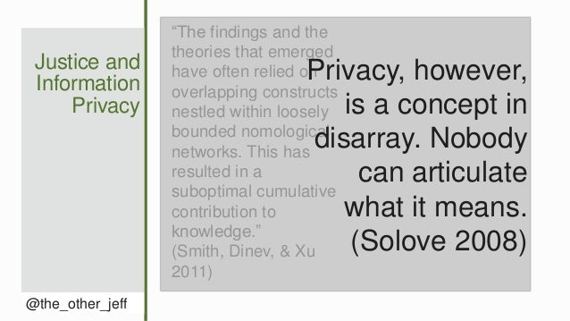 The Value-and Limits-of Distributive Justice in Information Privacy Slide 3