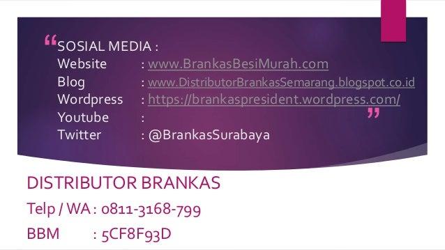 0811-3168-799 , Distributor Jual Brankas di Semarang