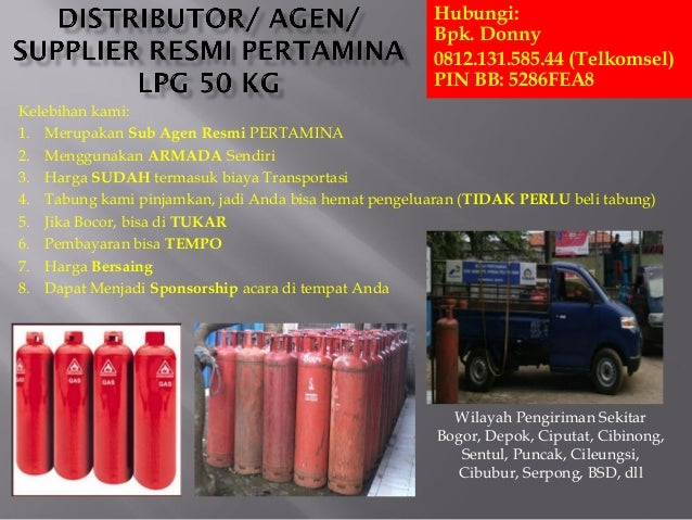 Gas Elpiji Distributor