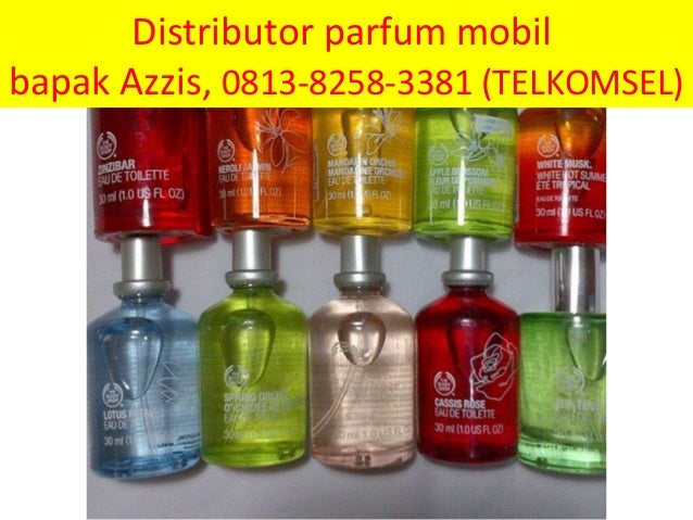 parfum mobil unik