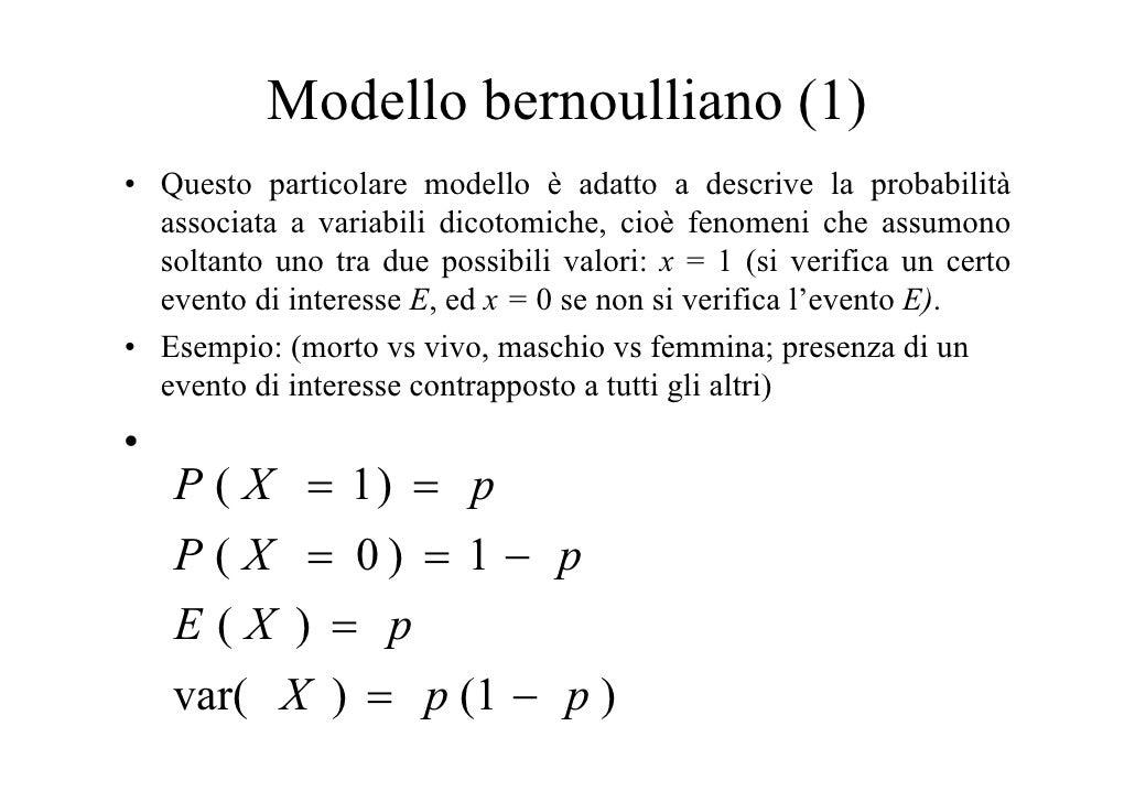 Distribuzioni di probabilita e variabili casuali for Studio di funzione a due variabili