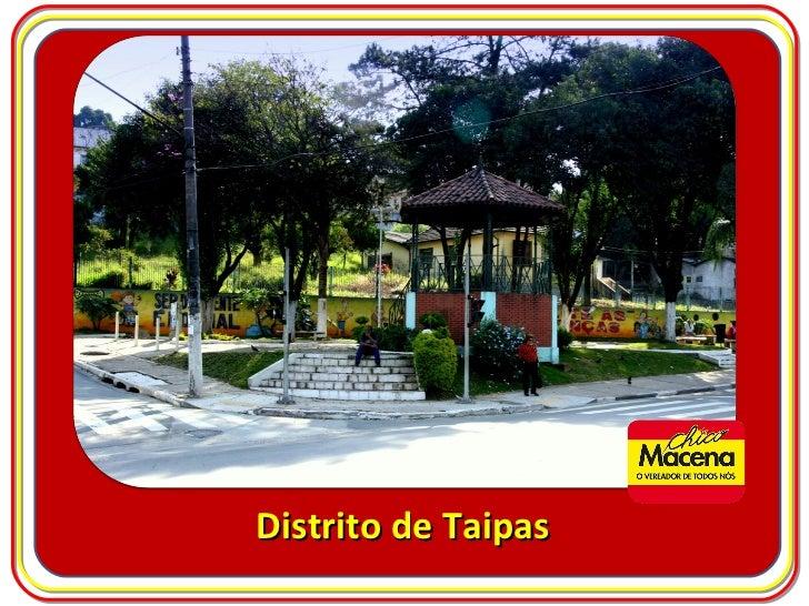 Distrito de Taipas