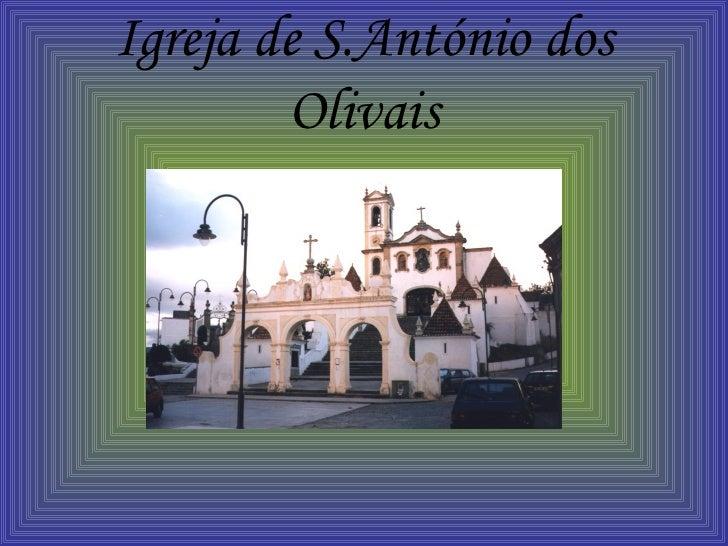 Igreja de S.António dos Olivais
